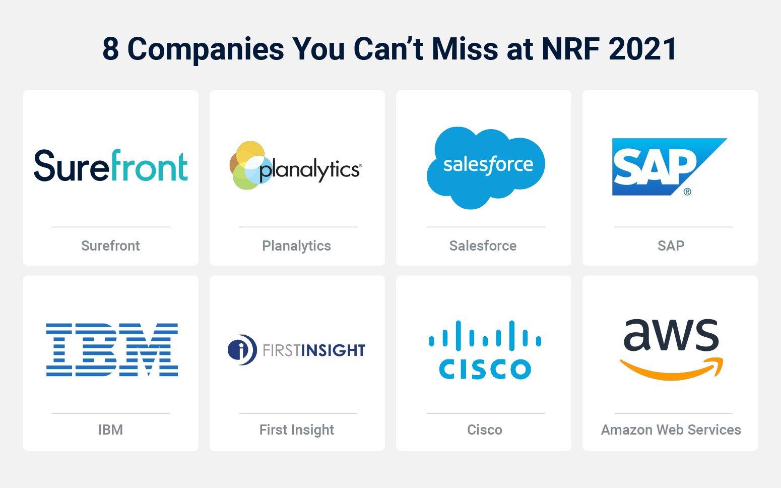 Feature Companies NRF 2021 Virtual Show