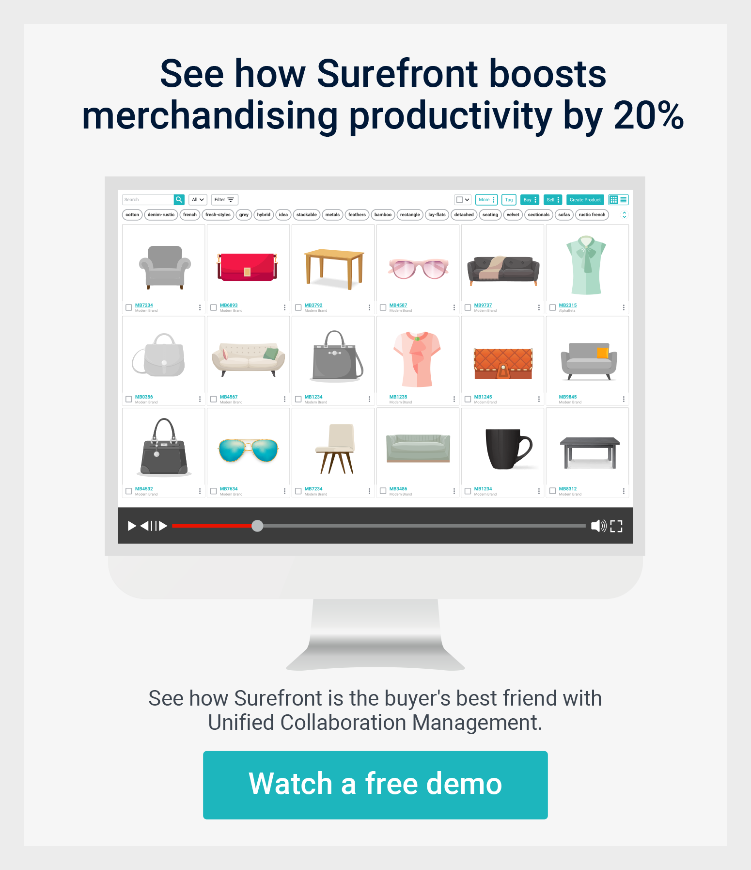 Retail merchandising software demo